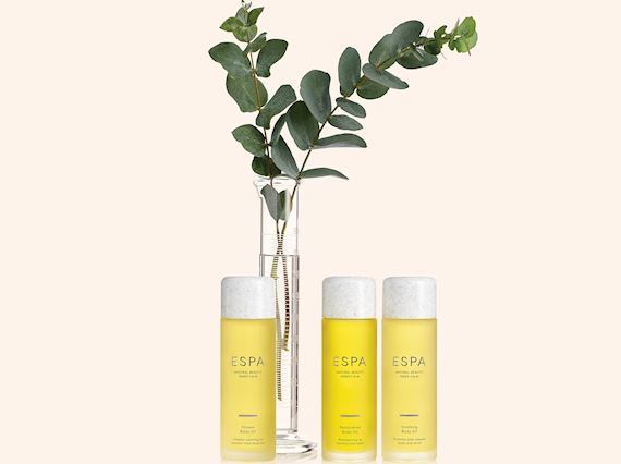 ESPA products in packaging